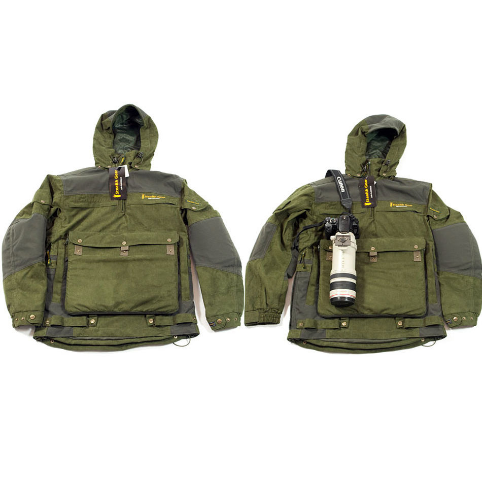 Foto van Stealth-Gear Extreme Smock Forest Green (Size: S)