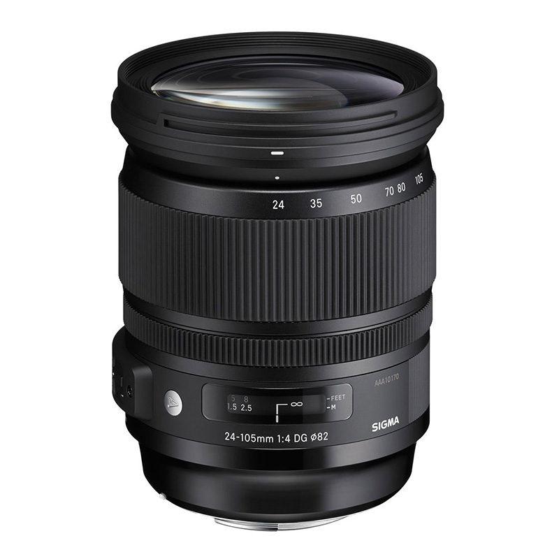 Sigma 24-105mm f/4.0 DG HSM Art Sony A-mount objectief