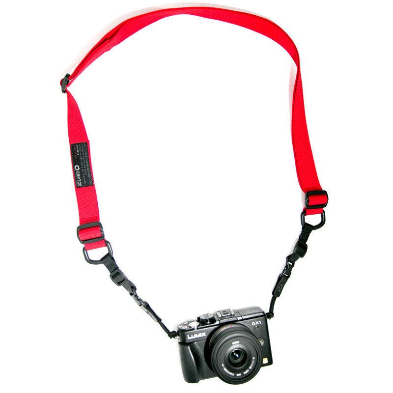 DSPTCH Standard Camera Sling Strap - Rood Draagriem