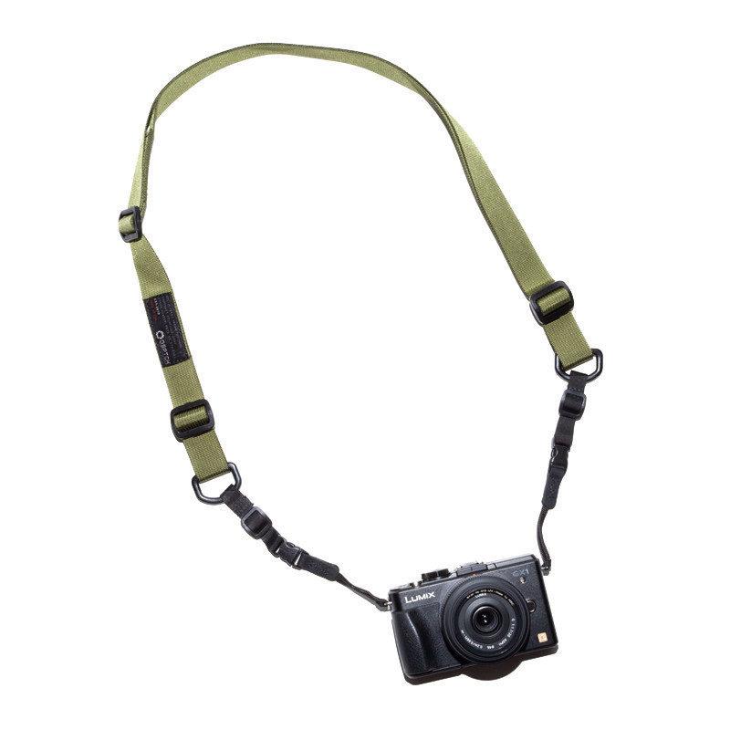 DSPTCH Standard Camera Sling Strap - Olive Draagriem