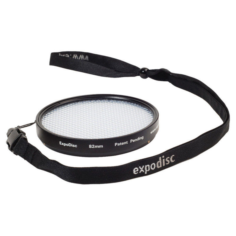 Foto van ExpoDisc 2.0 Witbalans filter 82mm