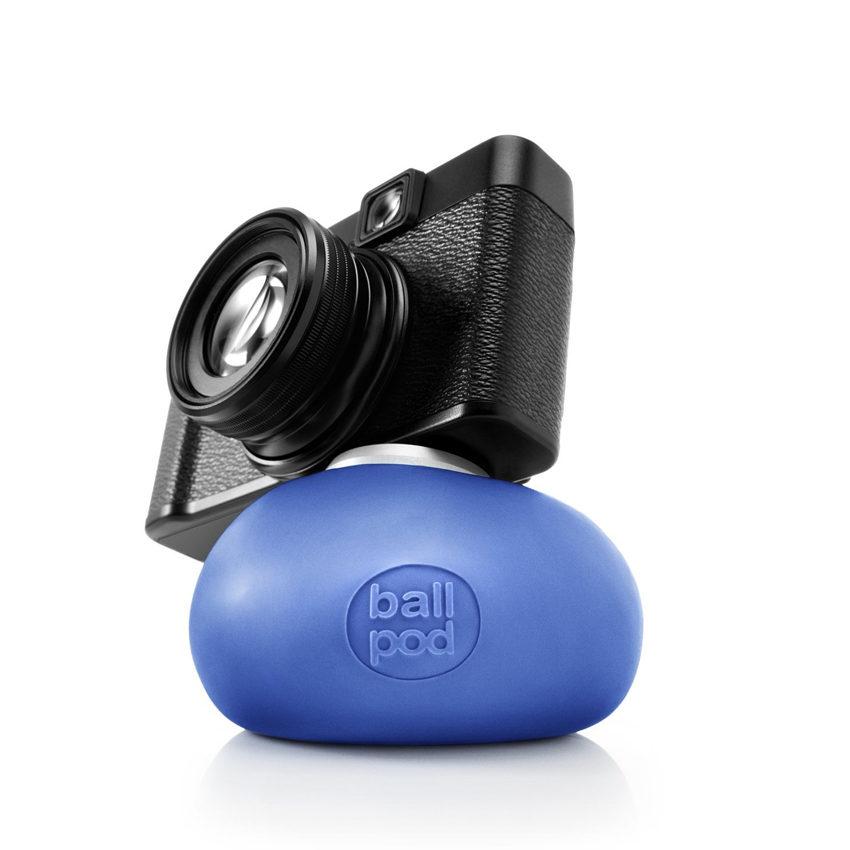 Afbeelding van Ballpod 8cm blauw