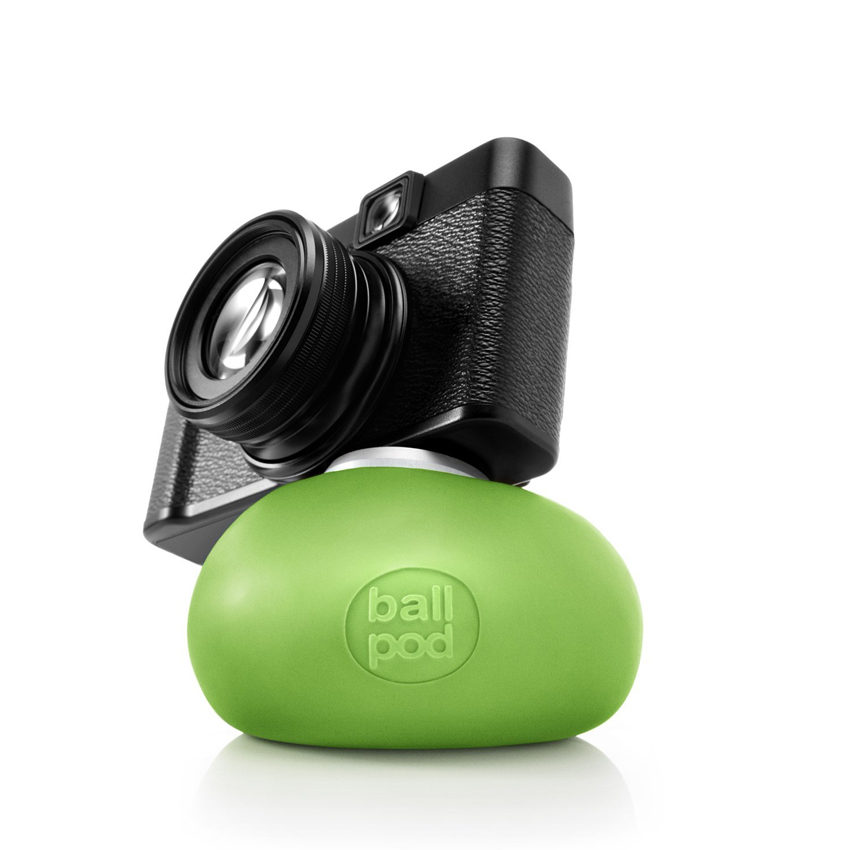 Afbeelding van Ballpod 8cm groen