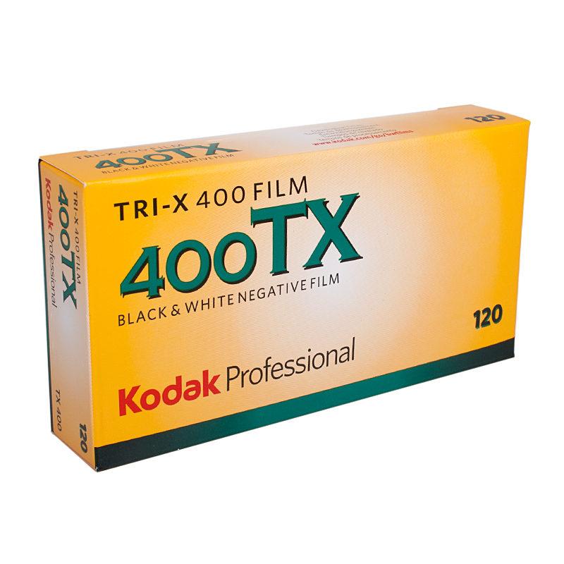 Kodak TRI-X 400 120 5-pack met korting