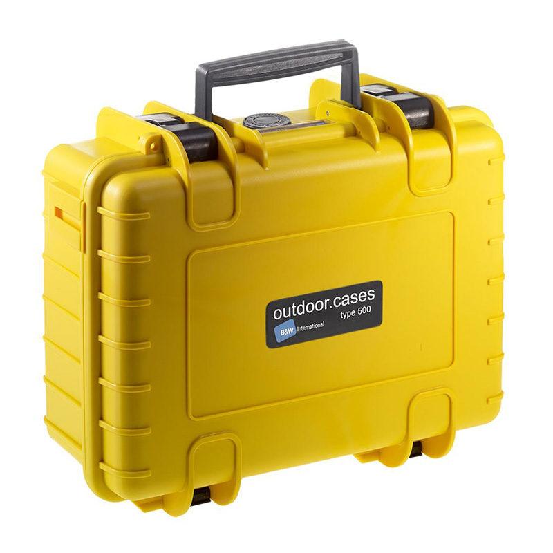 B Outdoor-Case Type 500 Geel