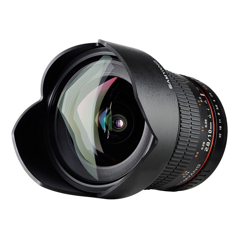 Foto van Samyang 10mm f/2.8 ED AS NCS CS Sony objectief