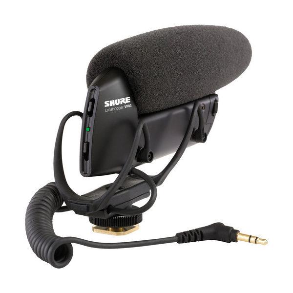 Shure VP83 Camera Mount Shotgun Microphone