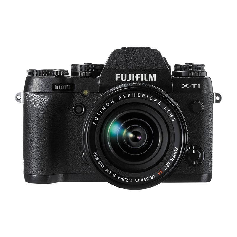 Fujifilm X-T1 systeemcamera Zwart + XF 18-55mm