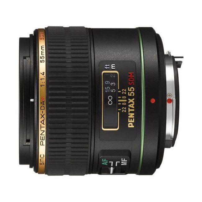Pentax SMC DA 55mm f/1.4 SDM AL IF objectief