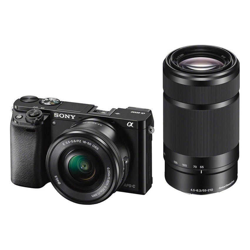 Sony Alpha A6000 ICL systeemcamera Zwart + 16-50mm OSS + 55-210mm OSS (ILCE6000Y <br/>€ 689.00 <br/> <a href='https://www.cameranu.nl/fotografie/?tt=12190_474631_241358_&r=https%3A%2F%2Fwww.cameranu.nl%2Fnl%2Fp462584%2Fsony-alpha-a6000-icl-systeemcamera-zwart-16-50mm-oss-55-210mm-oss-ilce6000yb-cec%3Fchannable%3De10841.NDYyNTg0%26utm_campaign%3D%26utm_content%3DSony%2Bsysteemcamera%26utm_source%3DTradetracker%26utm_medium%3Dcpc%26utm_term%3DDigitale%2Bcamera%26apos%3Bs' target='_blank'>naar de winkel</a>
