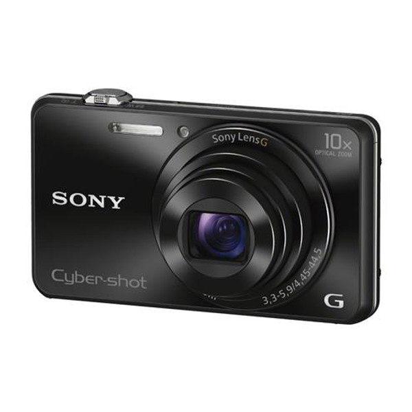 Sony Cybershot DSC-WX220 compact camera Zwart