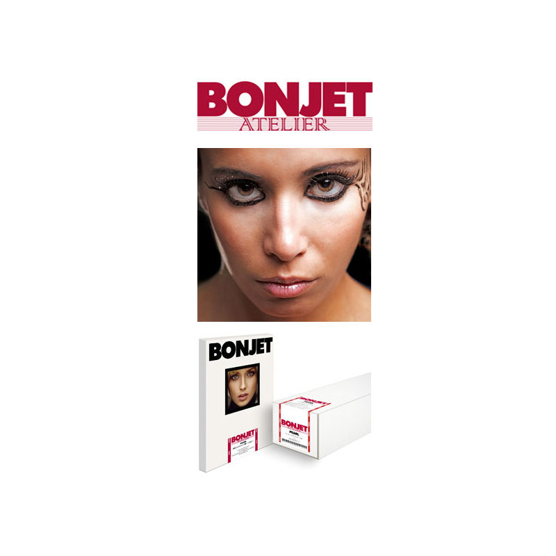 Foto van Bonjet Atelier Pearl 300g/m2 A4 500 Vel