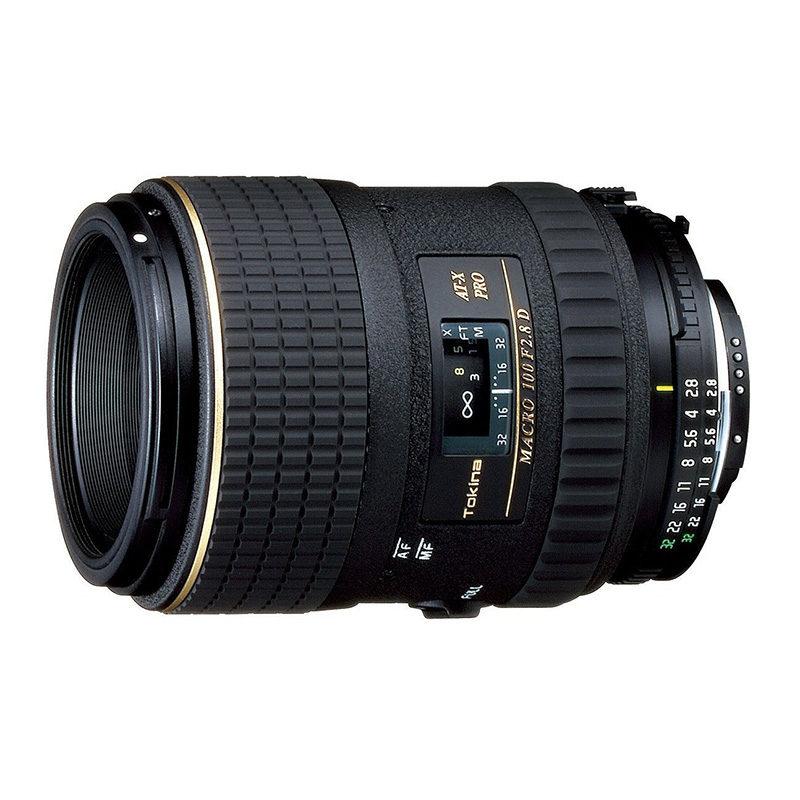Foto van Tokina AT-X M 100mm f/2.8 AF Pro D Macro Nikon objectief