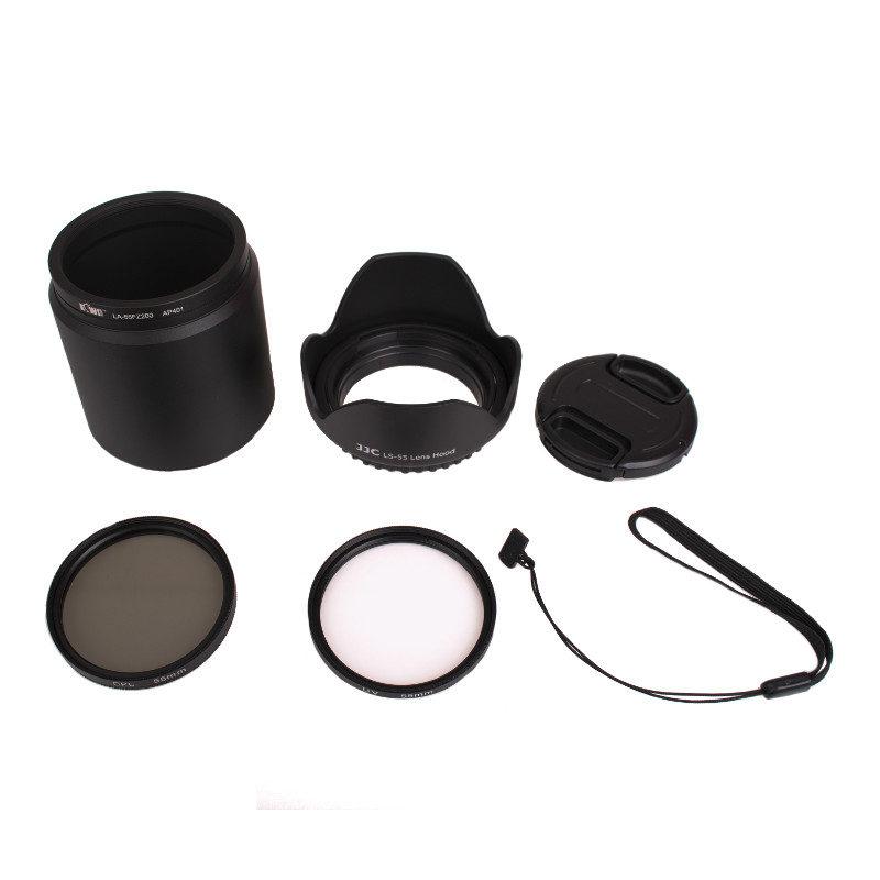 Kiwi Lens Adapter Kit voor Panasonic DMC-FZ200