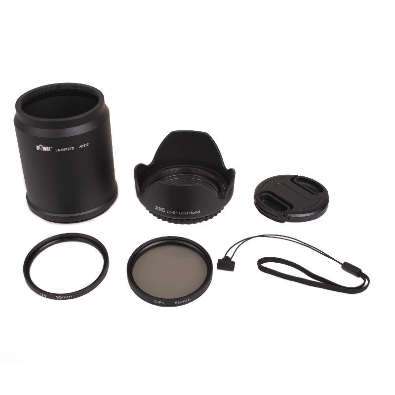 Kiwi Lens Adapter Kit voor Panasonic DMC-FZ72-FZ70