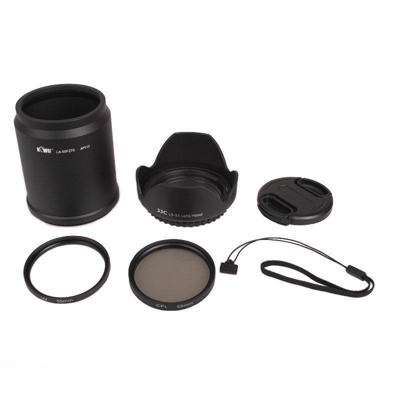Kiwi Lens Adapter Kit voor Panasonic DMC-FZ72-FZ70
