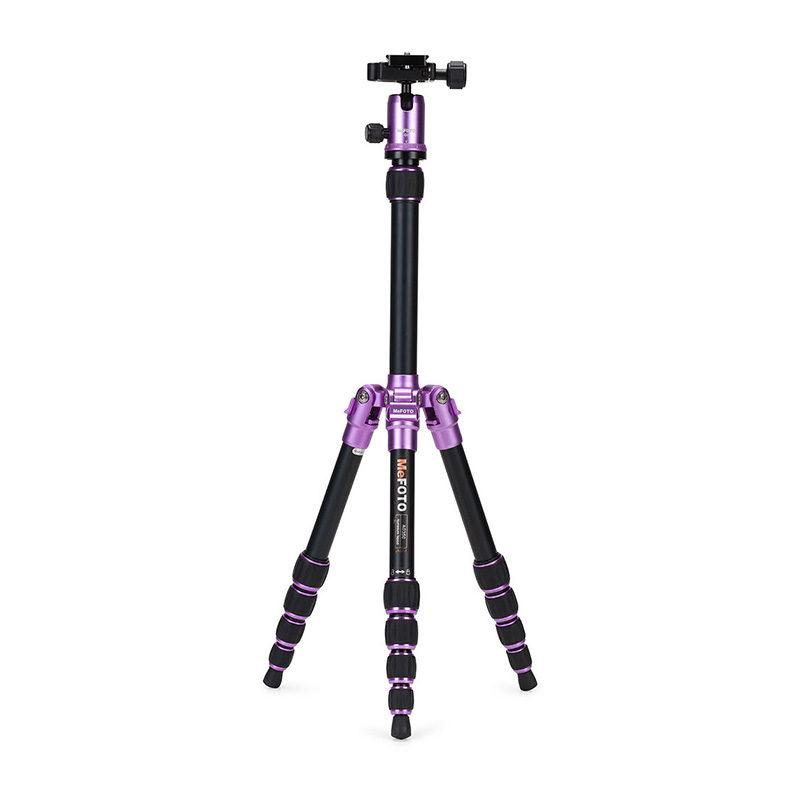 Foto van MeFOTO A0350Q0 statief Purple