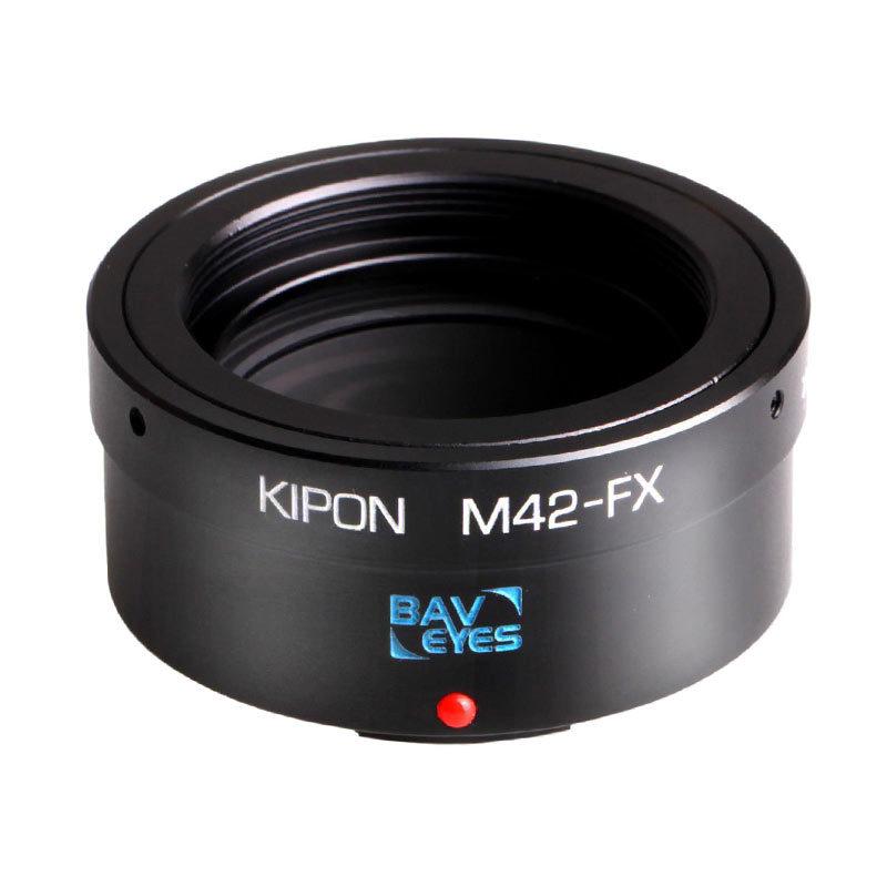 Foto van Kipon Baveyes Optic Adapter (M42 naar Fuji X)
