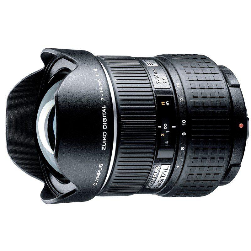 Olympus Zuiko Digital 7-14mm f/4.0 objectief