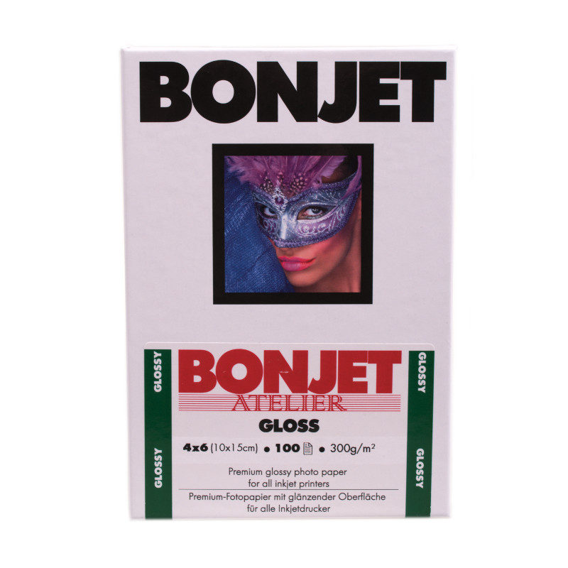 Image of Bonjet Atelier glans 10x15 cm 300 g 100 Vel
