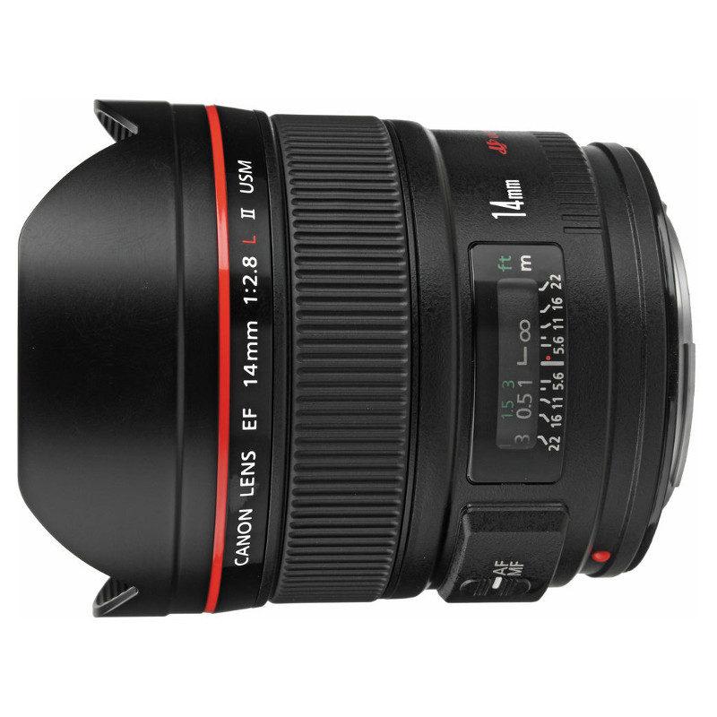Canon EF 14mm f/2.8L II USM objectief
