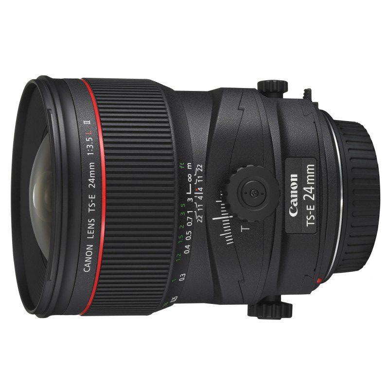 Canon TS-E 24mm f/3.5L II objectief