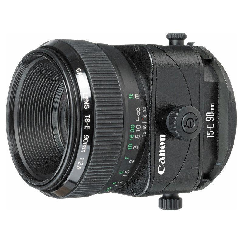 Canon TS-E 90mm f/2.8 objectief