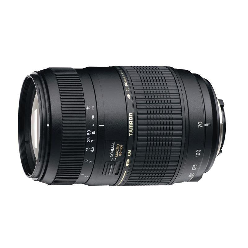 Foto van Tamron AF 70-300mm f/4.0-5.6 Di LD Macro Nikon objectief
