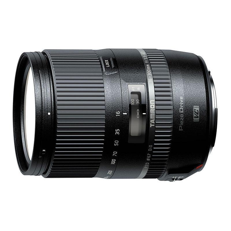 Foto van Tamron AF 16-300mm f/3.5-6.3 Di II VC PZD Macro Nikon objectief