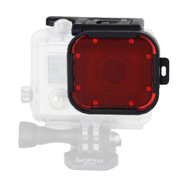 Foto van Polar Pro Aqua Red Filter voor GoPro Hero 3+ en 4