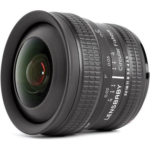 Foto van Lensbaby Circular Fisheye Lens 5.8mm voor Nikon