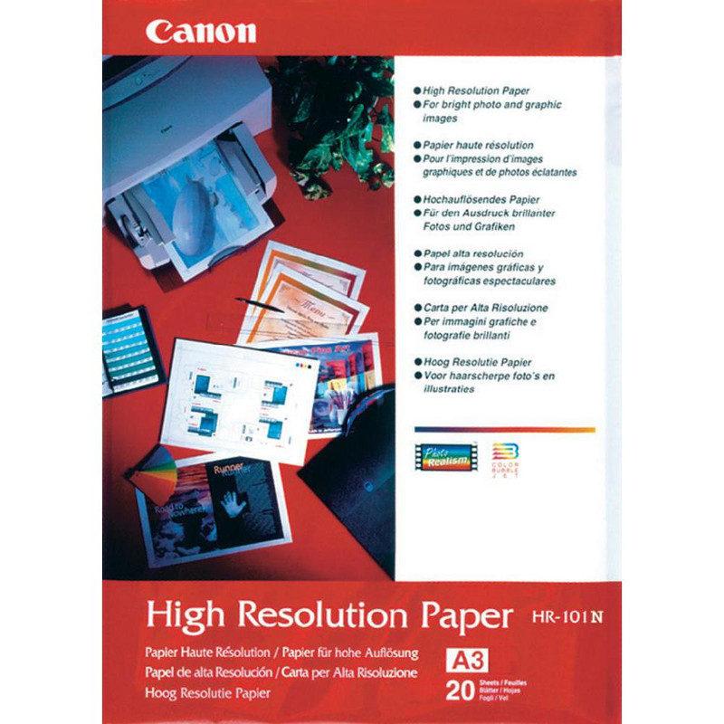 Foto van Canon HR-101 High Resolution Paper A3 100 sheets