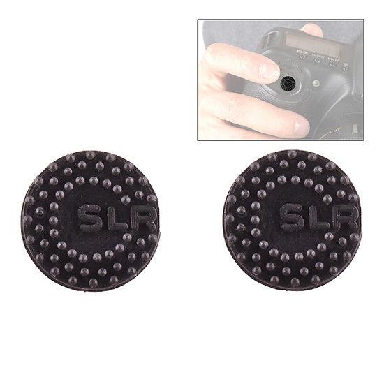 Foto van Custom SLR ProDot Shutter Button Zwart (2 stuks)
