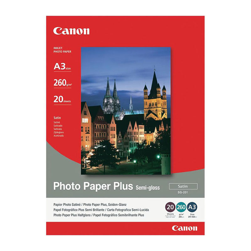 Canon SG-201 A3 Paper photo semi-gloss 20sh