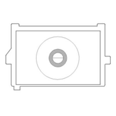 KatzEye Plus Horizontal Split Prism, Standard Matte voor Canon EOS 550D en 600D