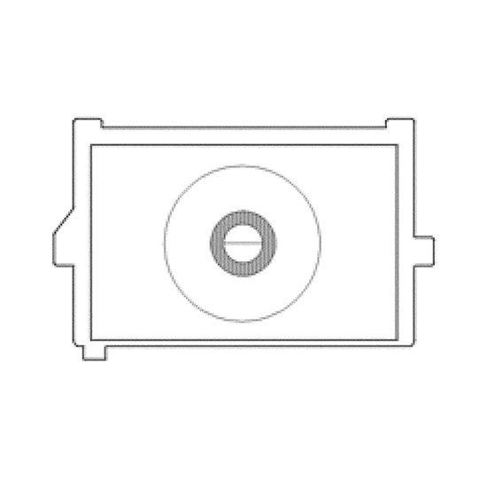 KatzEye Plus Horizontal Split Prism, OptiBrite Matte, voor Canon EOS 550D en 600D