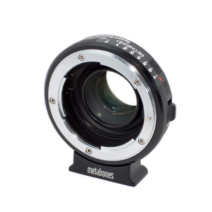 Metabones Nikon G - Blackmagic MFT Cinema Camera Speed Booster