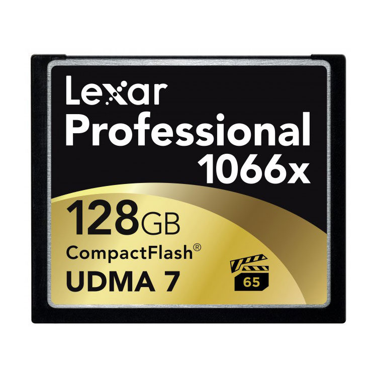 Lexar CF Pro 1066x UDMA7 128GB 160MB/sec compact flash met korting