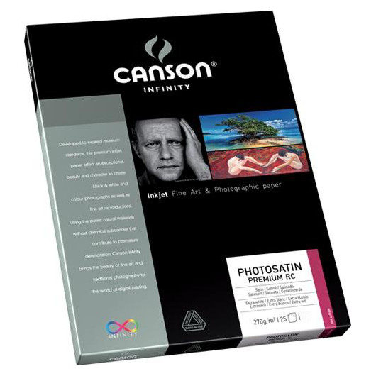Image of Canson Infinity PhotoSatin Premium RC 270g A2 25 vel