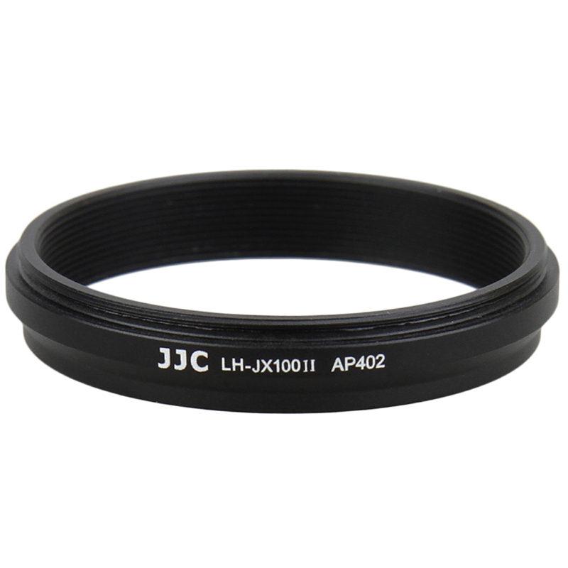 JJC LH-JX100II Fuji zonnekap zwart