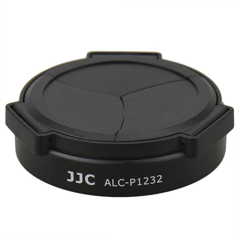 Foto van JJC ALC-P1232 Automatische lensdop zwart