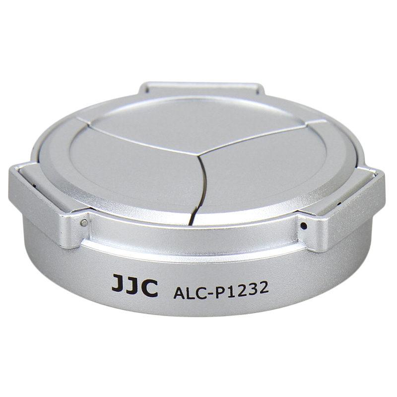 Foto van JJC ALC-P1232 Automatische lensdop zilver