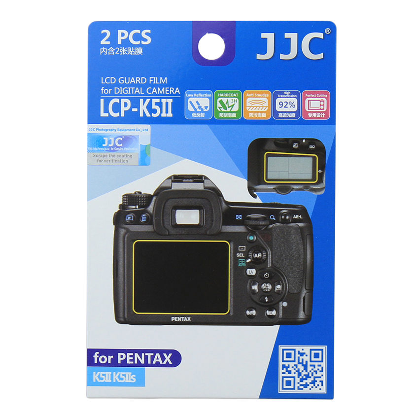 JJC LCP-K5II Screenprotector
