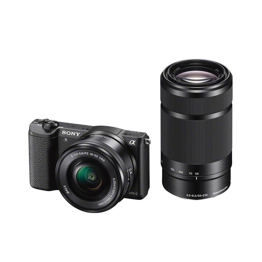 Sony Alpha A5100 ICL systeemcamera Zwart + 16-50mm OSS + 55-210mm OSS (ILCE5100Y <br/>€ 599.00 <br/> <a href='https://www.cameranu.nl/fotografie/?tt=12190_474631_241358_&r=https%3A%2F%2Fwww.cameranu.nl%2Fnl%2Fp559022%2Fsony-alpha-a5100-icl-systeemcamera-zwart-16-50mm-oss-55-210mm-oss-ilce5100yb-cec%3Fchannable%3De10841.NTU5MDIy%26utm_campaign%3D%26utm_content%3DSony%2Bsysteemcamera%26utm_source%3DTradetracker%26utm_medium%3Dcpc%26utm_term%3DDigitale%2Bcamera%26apos%3Bs' target='_blank'>naar de winkel</a>