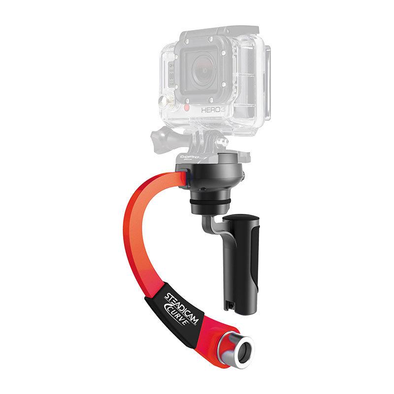Foto van Steadicam Curve for GoPro HERO Action Cameras Red