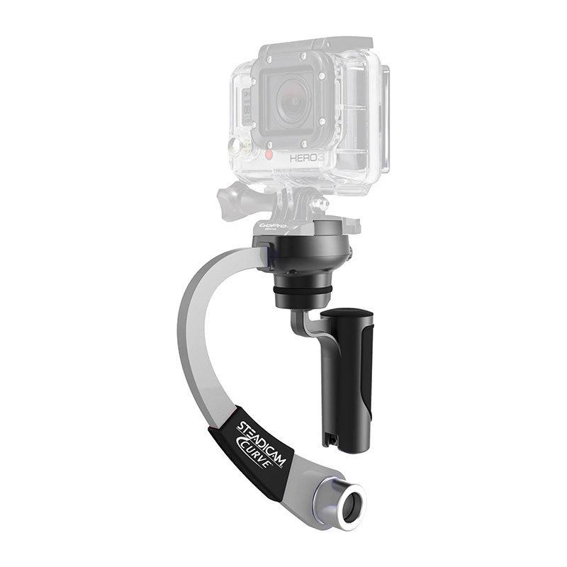 Foto van Steadicam Curve for GoPro HERO Action Cameras Silver