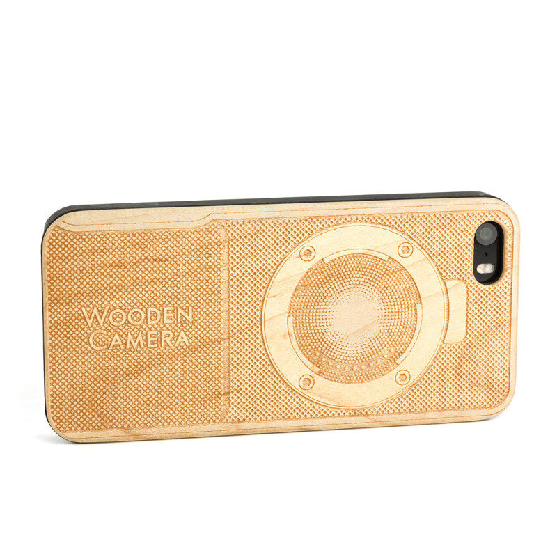 Wooden Camera iPhone 5 Case (BMPCC)