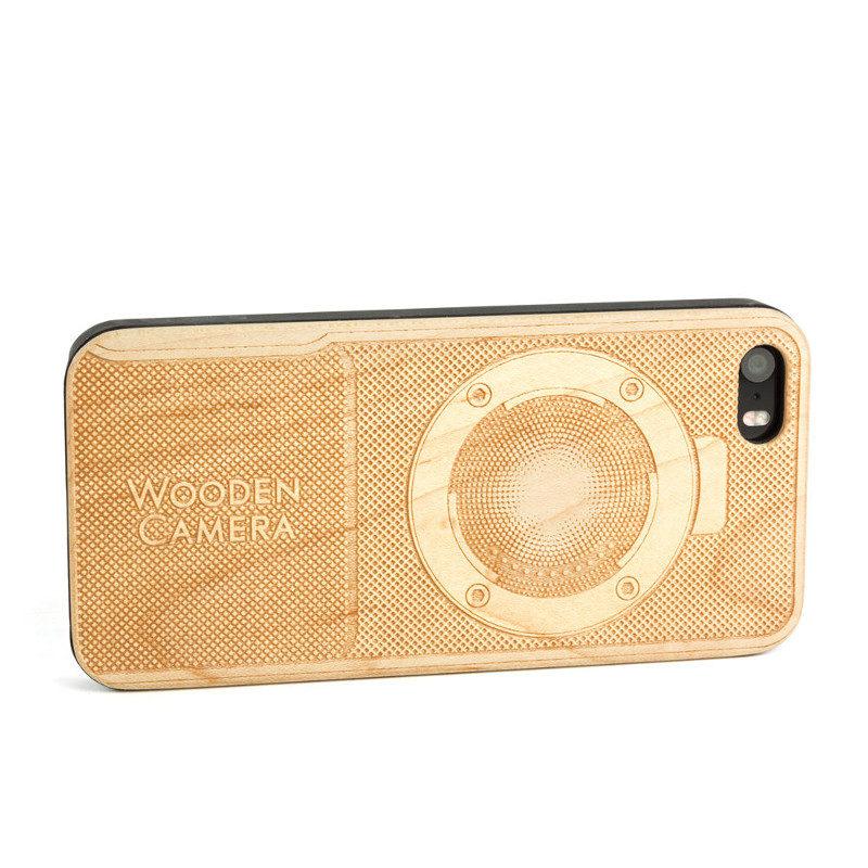 Wooden Camera iPhone 5 Case (BMPCC)