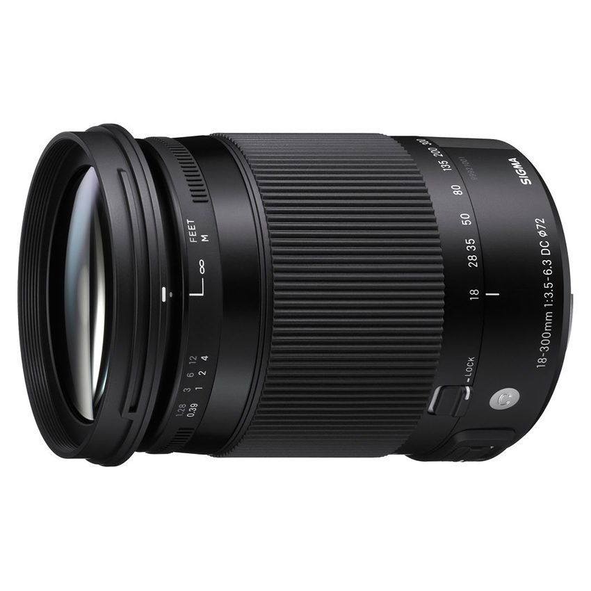 Sigma 18-300mm f/3.5-6.3 DC OS HSM Macro Contemporary Canon EF-S-mount objectief