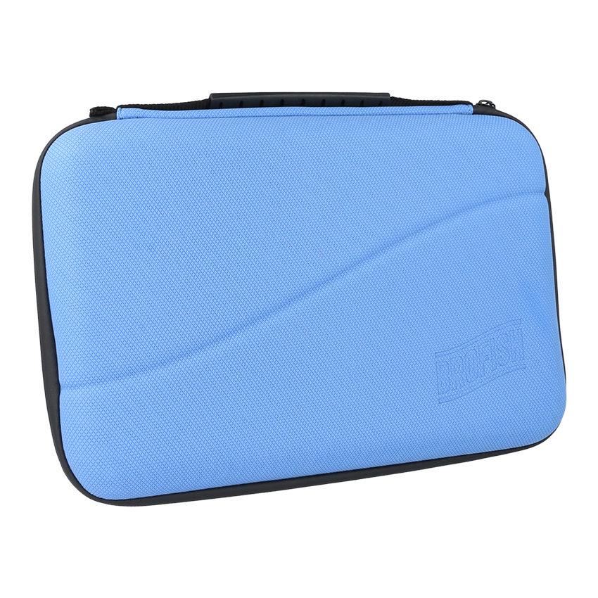 Brofish Case Large GoPro Edition Blue Rubber
